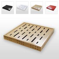 Sonitus Acoustics Decosorber Massive Quad Absorption Panel (Single Panel)