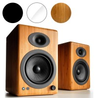 Audioengine A5+ Wireless Powered Speakers with Bluetooth (Pair)