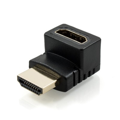 Right Angle HDMI Adapter (Upward Facing)