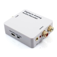 Digital to Analog Audio Decoder Converter - Dolby AC3 & DTS