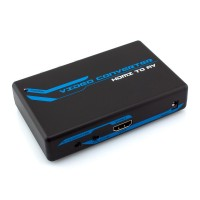 HDMI to Composite / S-Video + Stereo Audio Converter