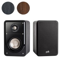 Polk Audio Signature Series S15 Compact Bookshelf Speakers (Pair)