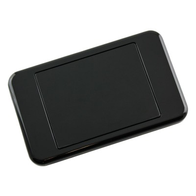 Custom Wall Plate Blank Clipsal Compatible - Black