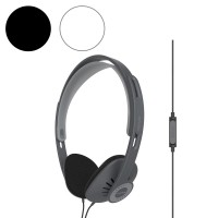 Koss KPH30i On Ear Headphones with Inline Microphone & Remote