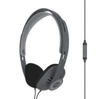 Koss KPH30i On Ear Headphones with Inline Microphone & Remote - Black