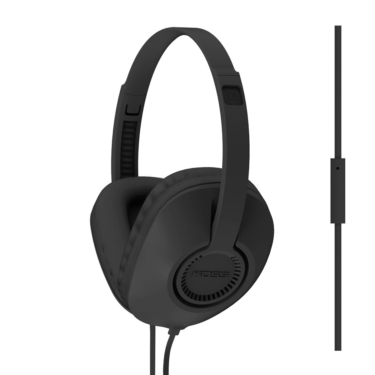 koss ur23i over ear headphones with one touch microphone space hi fi. Black Bedroom Furniture Sets. Home Design Ideas