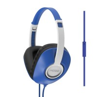 Koss UR23i Over Ear Headphones with One-Touch Microphone - Blue