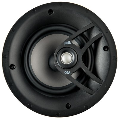 "Polk Audio V60 Vanishing High Performance 6.5"" In Ceiling Speaker (Single)"