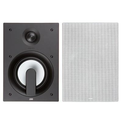 """Jamo 200 Series IW 206 FG 6.5"""" In Wall Speaker (Single)"""