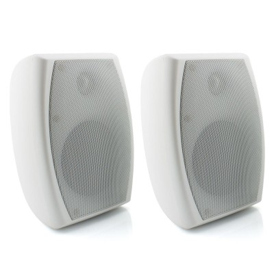 "Avico AOS203V - 4"" Indoor / Outdoor Speakers 80W Switchable 100V / 8 Ohm (Pair)"