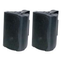 """Opus One C0901 - 3.5"""" Outdoor Speakers 30W - Black (Pair)"""