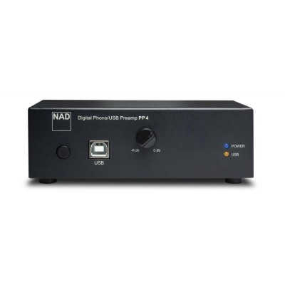 NAD PP 4 Digital Phono / USB Preamplifier (MM & MC Cartridges)