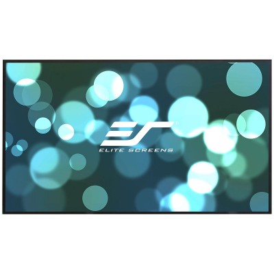 Elite Screens Aeon CineGrey 3D ALR (Ambient Light Rejecting) 16:9 Fixed Frame Projector Screen