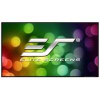 Elite Screens Aeon CLR (Ceiling Light Rejecting) UST 16:9 Fixed Frame Projector Screen