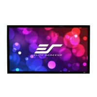 Elite Screens ezFrame Acoustic 4K 16:9 Fixed Frame Projector Screen