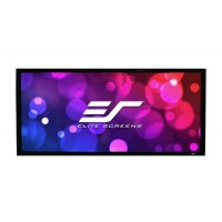 Elite Screens ezFrame Cinema235 Acoustic 4K CinemaScope 2.35:1 Fixed Frame Projector Screen