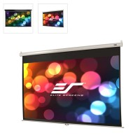Elite Screens 16:9 Pull Down Projector Screen