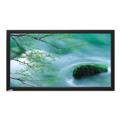 Screen Technics CinemaSnap MW (Matte White) 16:9 Fixed Frame Projector Screen