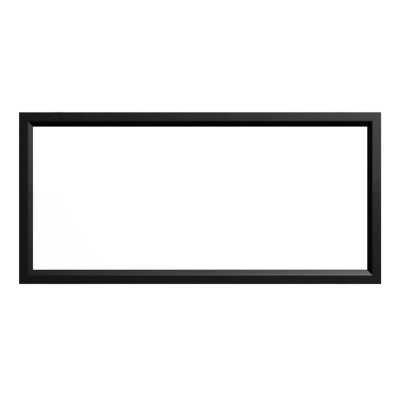 Screen Technics CinemaSnap MW (Matte White) 2.35:1 Fixed Frame Projector Screen