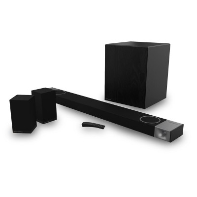 Klipsch Cinema 1200 Dolby Atmos 5.1.4 Sound Bar and Surround Sound System