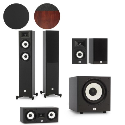 JBL Stage A170, A120, A125C & A100P - 5.1 Speaker Package