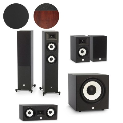 JBL Stage A180, A130, A125C & A120P - 5.1 Speaker Package
