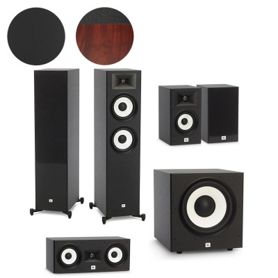 JBL Stage A190, A130, A125C & A120P - 5.1 Speaker Package