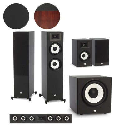 JBL Stage A190, A130, A135C & A120P - 5.1 Speaker Package