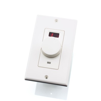 Stereo Speaker Volume Control Wall Plate with IR 100W