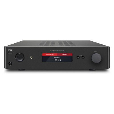 NAD C 368 Hybrid Digital DAC Stereo Integrated Amplifier with BluOS 2