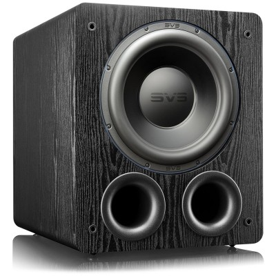 "SVS PB-3000 - 13"" Ported Box Subwoofer - Black Ash"