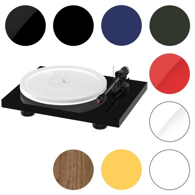 Pro-Ject Debut Carbon EVO Acryl Turntable with Ortofon 2M Red Cartridge