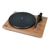 Pro-Ject Debut RecordMaster Turntable with Ortofon OM 5E Cartridge - Walnut