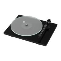 Pro-Ject T1 Turntable with Ortofon OM 5E Cartridge - Piano Black