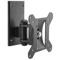 LCD LED TV Monitor Mounting Bracket with Tilt and Turn - Up to 20kg