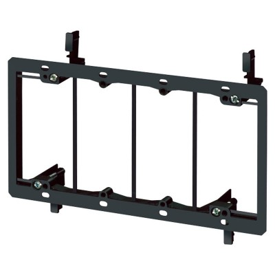 Arlington Industries LV4 Four Gang Low Voltage Mounting Bracket