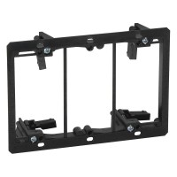 Arlington Industries LV3 Three Gang Low Voltage Mounting Bracket