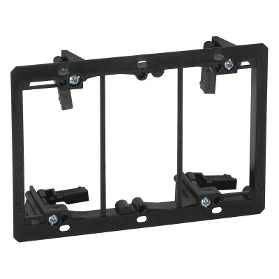 Three Gang (Triple Gang) Low Voltage Mounting Bracket