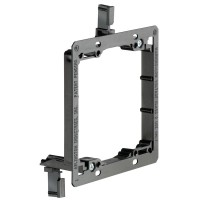 Arlington Industries LV2 - Two Gang (Double Gang) Low Voltage Mounting Bracket
