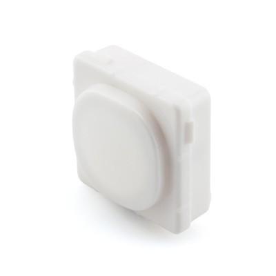 Blank Mech Insert Clipsal Compatible - White Bezel