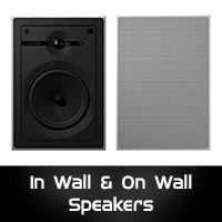 In Wall & On Wall Speakers
