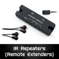 IR Repeaters (Remote Control Extenders)
