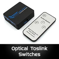 Optical Toslink Switches