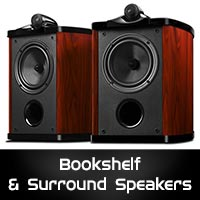 Bookshelf & Surround Speakers