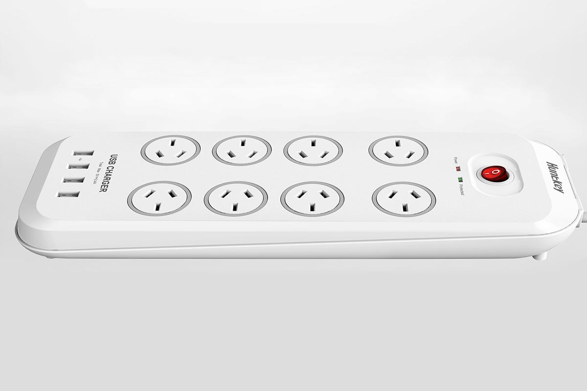 Huntkey SAC807 8 Outlet Surge Protector