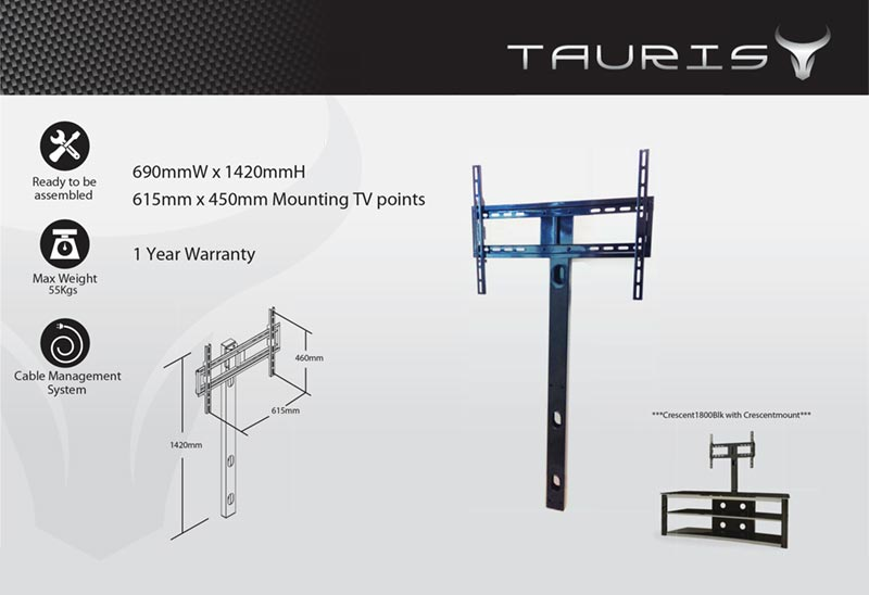 Tauris Optional TV Mount