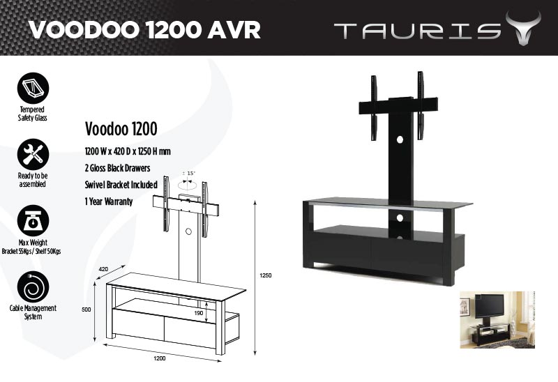 Tauris Ace TV Stand